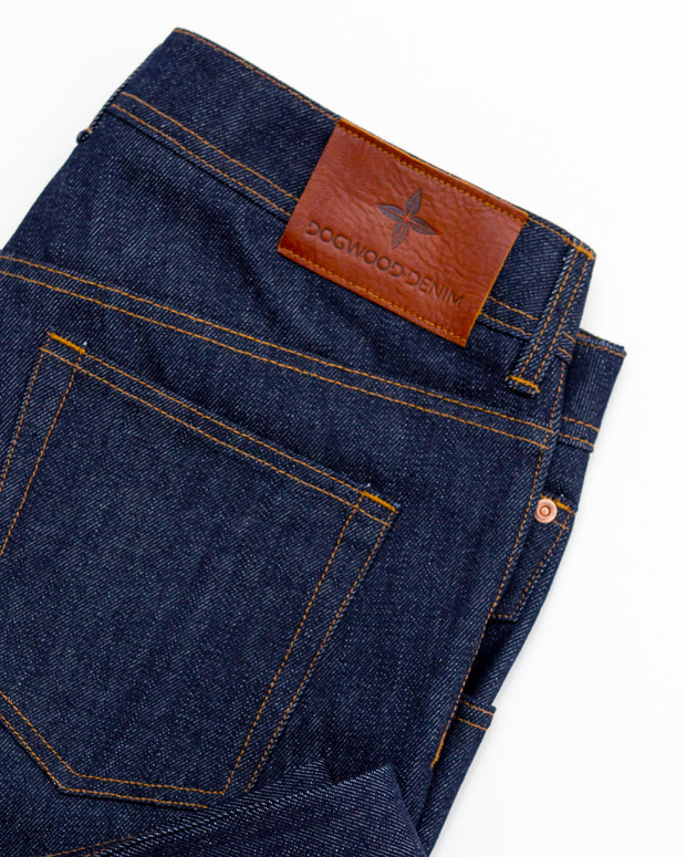 14.1 oz Raw Indigo Jeans