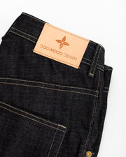 11.4 oz Raw Sanforized Custom Indigo Jeans