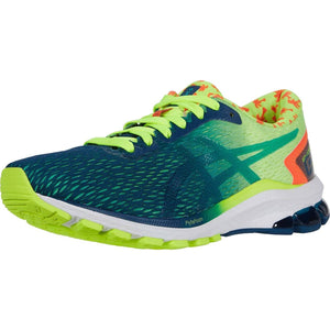 ASICS Men's GT-1000 9 (Safety Yellow/Mako Blue) Men's Running Shoes ASICS