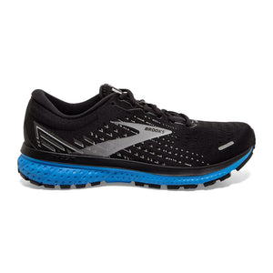Brooks Men's Ghost 13 Men's Running Shoes Brooks Black/Grey/Blue 7 D(M) US
