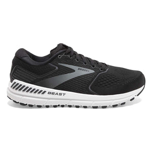 Men's Brooks Beast '20 Men's Running Shoes Brooks Black/Ebony/Grey 8 D(M) US