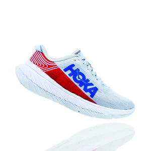 Men's Hoka ONE ONE Carbon X General Not specified Red/White/Blue 9 D US