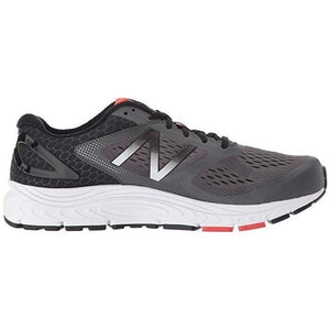 Men's New Balance 840 v4 Men's Running Shoes New Balance Gray/Black/Red/White 12 2E US