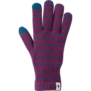 Smartwool Striped Liner Glove Accessories Smartwool