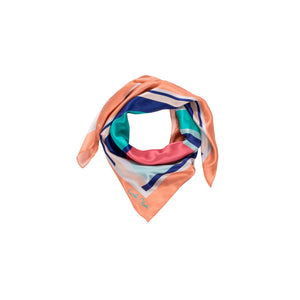 The Betsy Scarf - Coral - Large