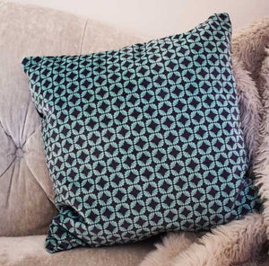 Fanfan Velvet Cushion - Mint