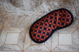 Fanfan Red Silk Eye Mask