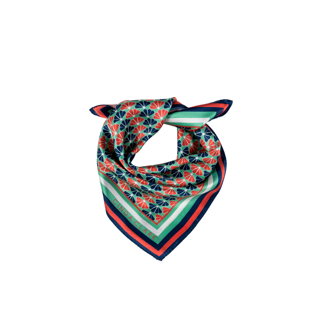 The Fanfan Scarf -Multi Colour - 45 x 45cm
