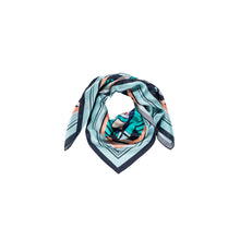 The Kaleidoscope Scarf - Blue - Large