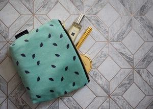 Random Fan Mint Make Up Bag