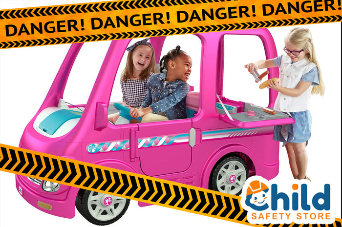 Recall Alert: Power Wheels Barbie Dream Campers