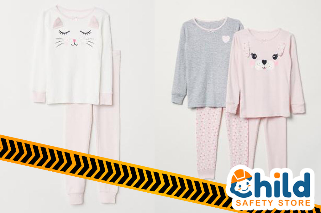 Product Recall: H&M Children's Sleepwear