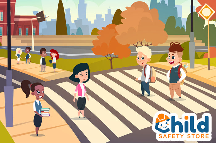 Pedestrian Road Rules for Kids