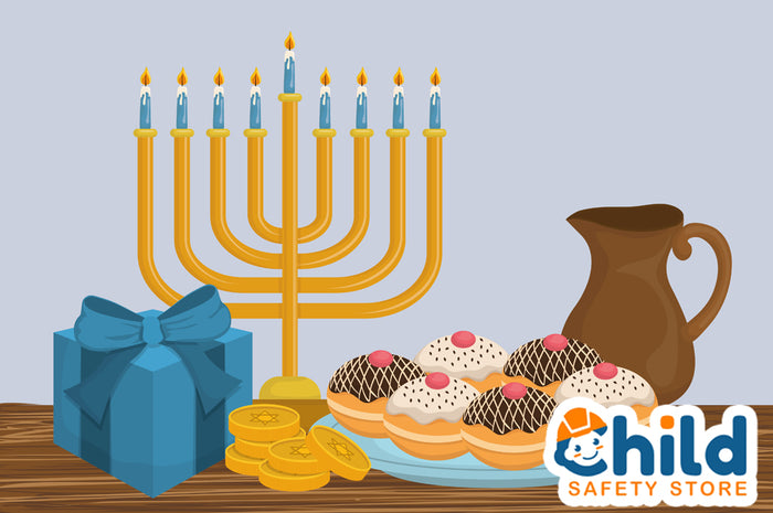 Hanukkah Candle Safety Tips
