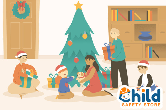 Keep Kids Safe in a Busy House During the Holidays
