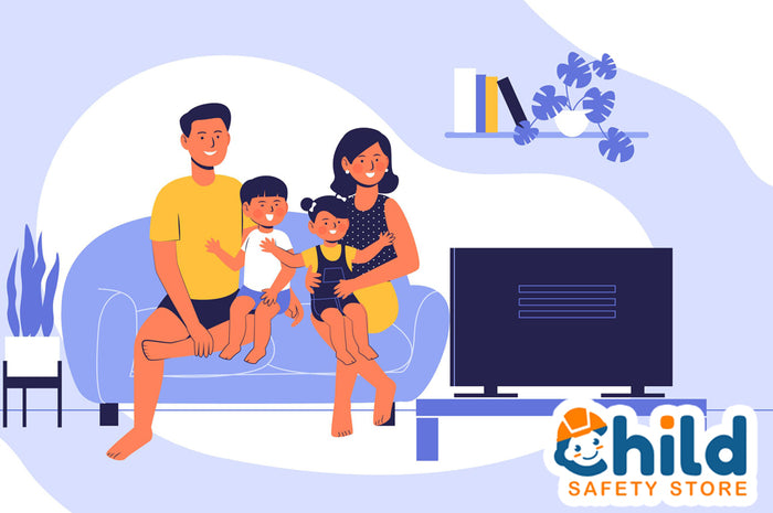 Keeping Kids Safe While Watching TV