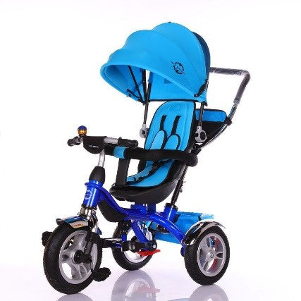 Little Bambino 4 in 1 Canopy Children's Tricycle (blue)