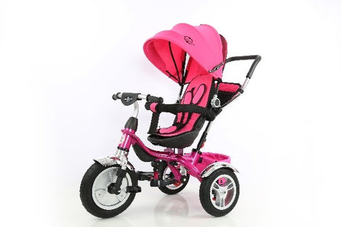 Little Bambino 4 in 1 Canopy Children's Tricycles (pink)