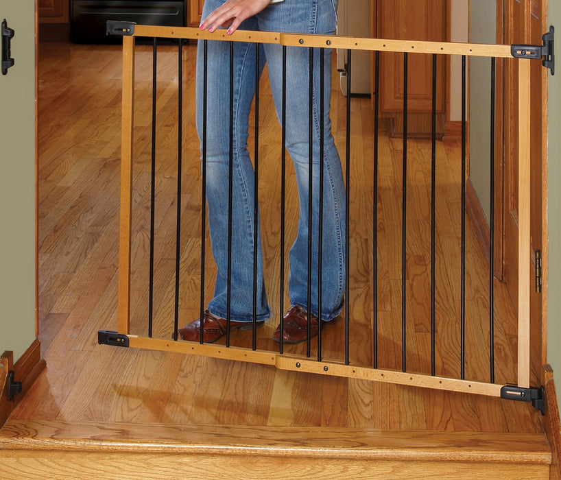 KidCo Designer Angle Mount Safeway Gate - Oak