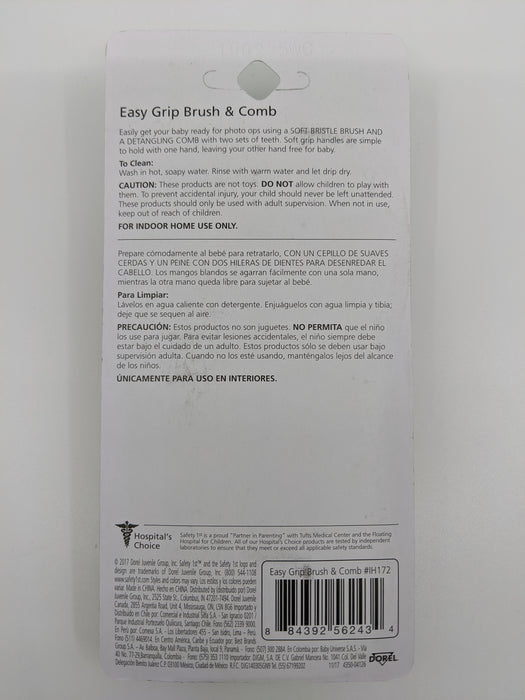 Safety 1st Easy Grip Brush and Comb
