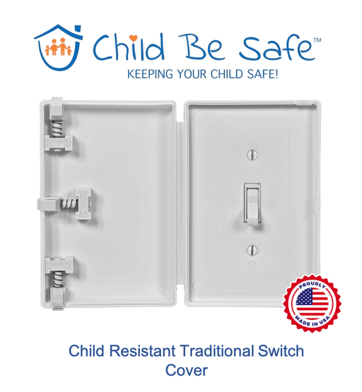 Child Be Safe Traditional Electrical Switch Cover