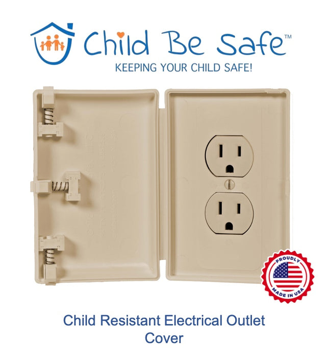 Child Be Safe Traditional Electrical Outlet Cover