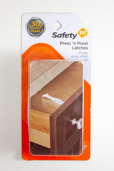 Safety 1st Press 'n Pivot Latches | 4 Pk