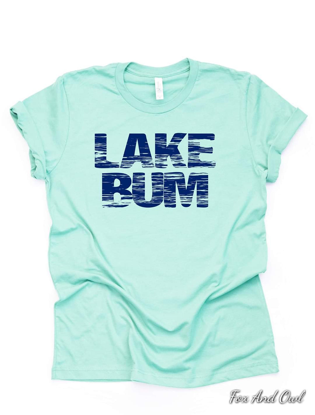 Lake Bum Mint Tee - sale