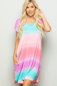 Tie Dye Dress - Sale