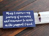 NEW peace + comfort :: amethyst necklace {1}