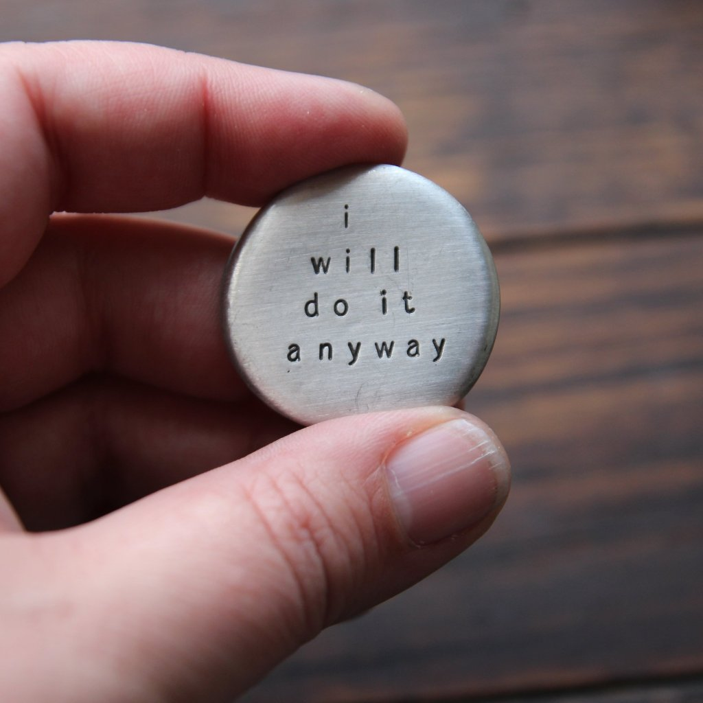 i will do it anyway :: pocket talisman