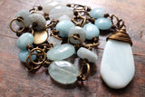 the magic of courage and light {amazonite and moonstone}