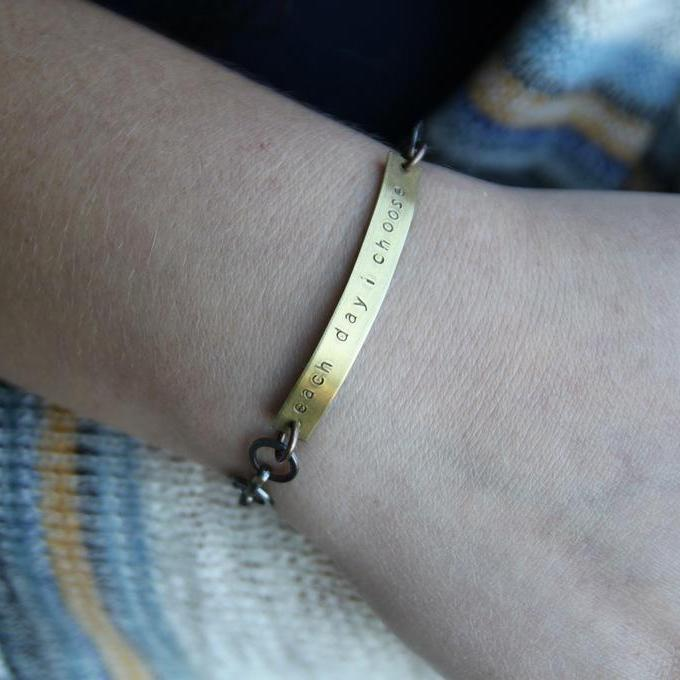 each day i choose :: my soul mantra bracelet