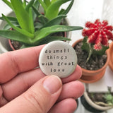 large soul mantra pocket talisman :: choose your phrase
