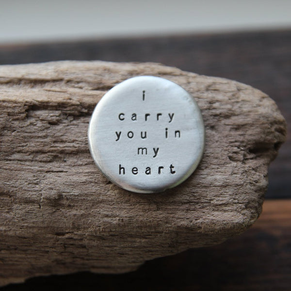 i carry you in my heart :: pocket talisman