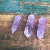 amethyst double point