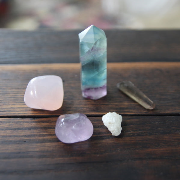 intuition gemstone bundle :: customized for you