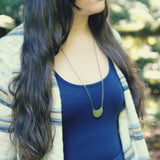 wild & free :: my soul mantra necklace