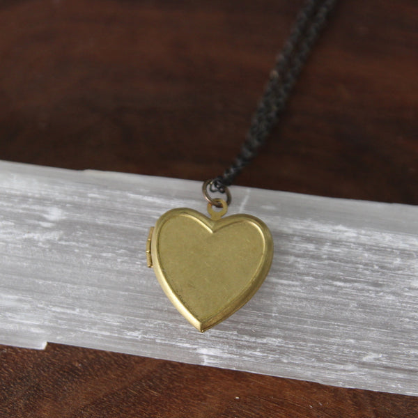 little heart locket