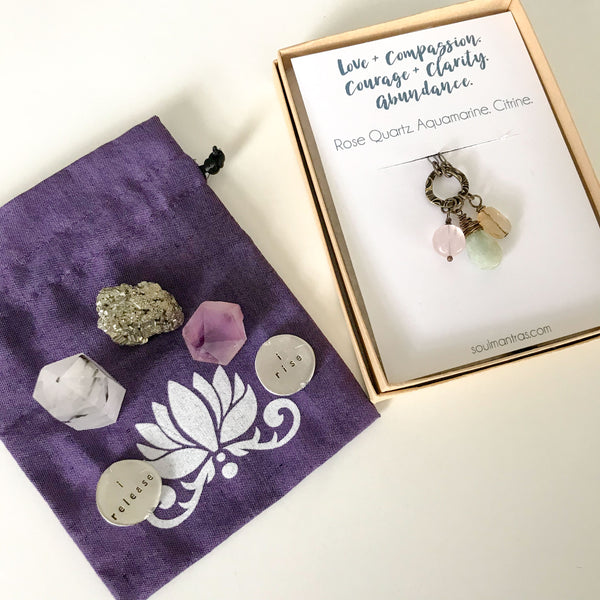 for the one holding courage and clarity :: intention bundle