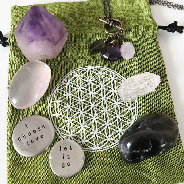 for the one making space for love :: intention bundle