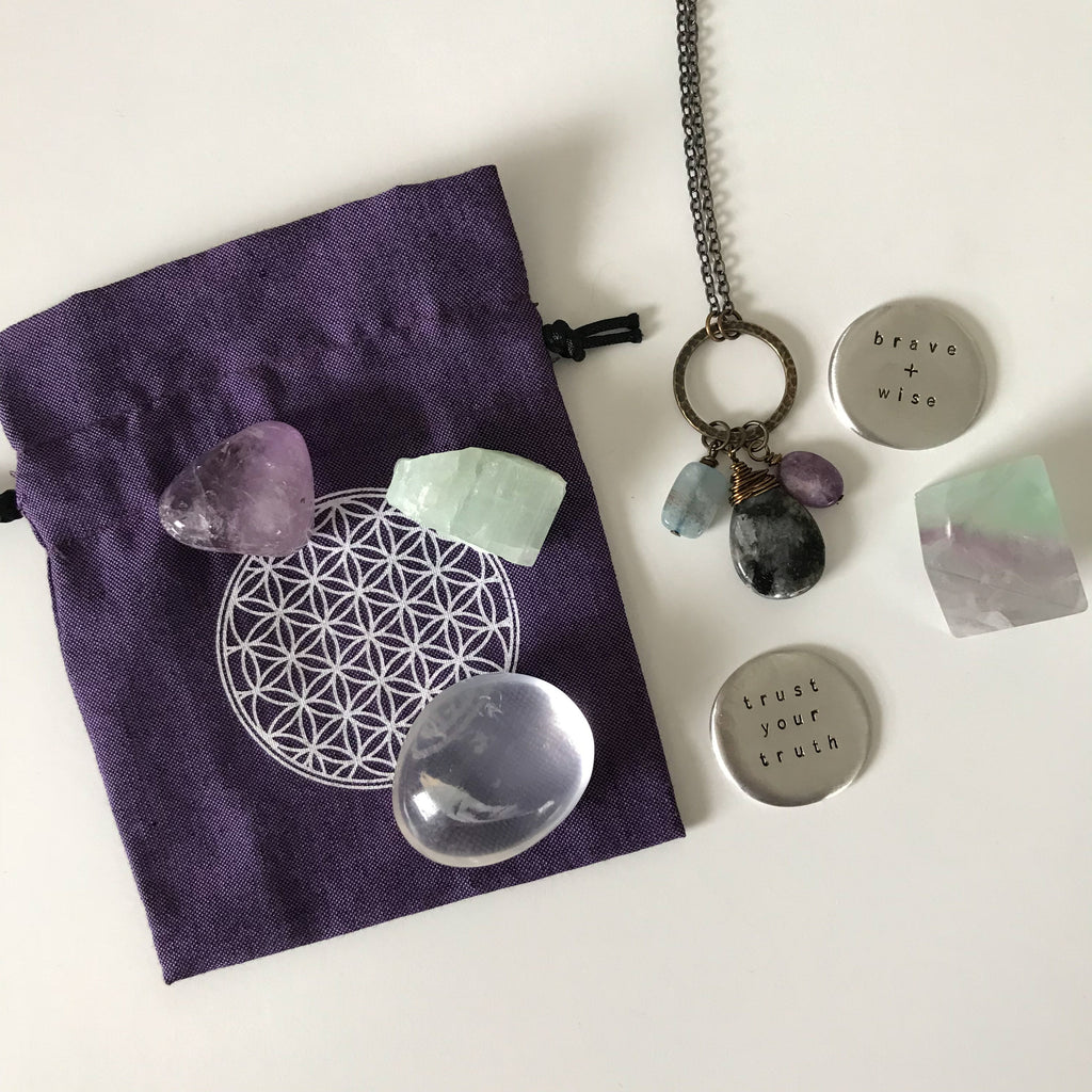 for the one trusting her brave wisdom :: intention bundle