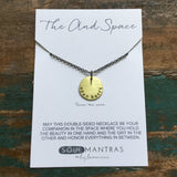 open heart & boundaries necklace :: the and space collection