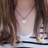 brave & love necklace :: the and space collection