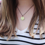 brave & messy necklace :: the and space collection