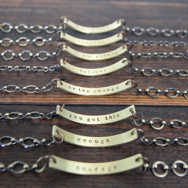 secret message bracelet :: custom