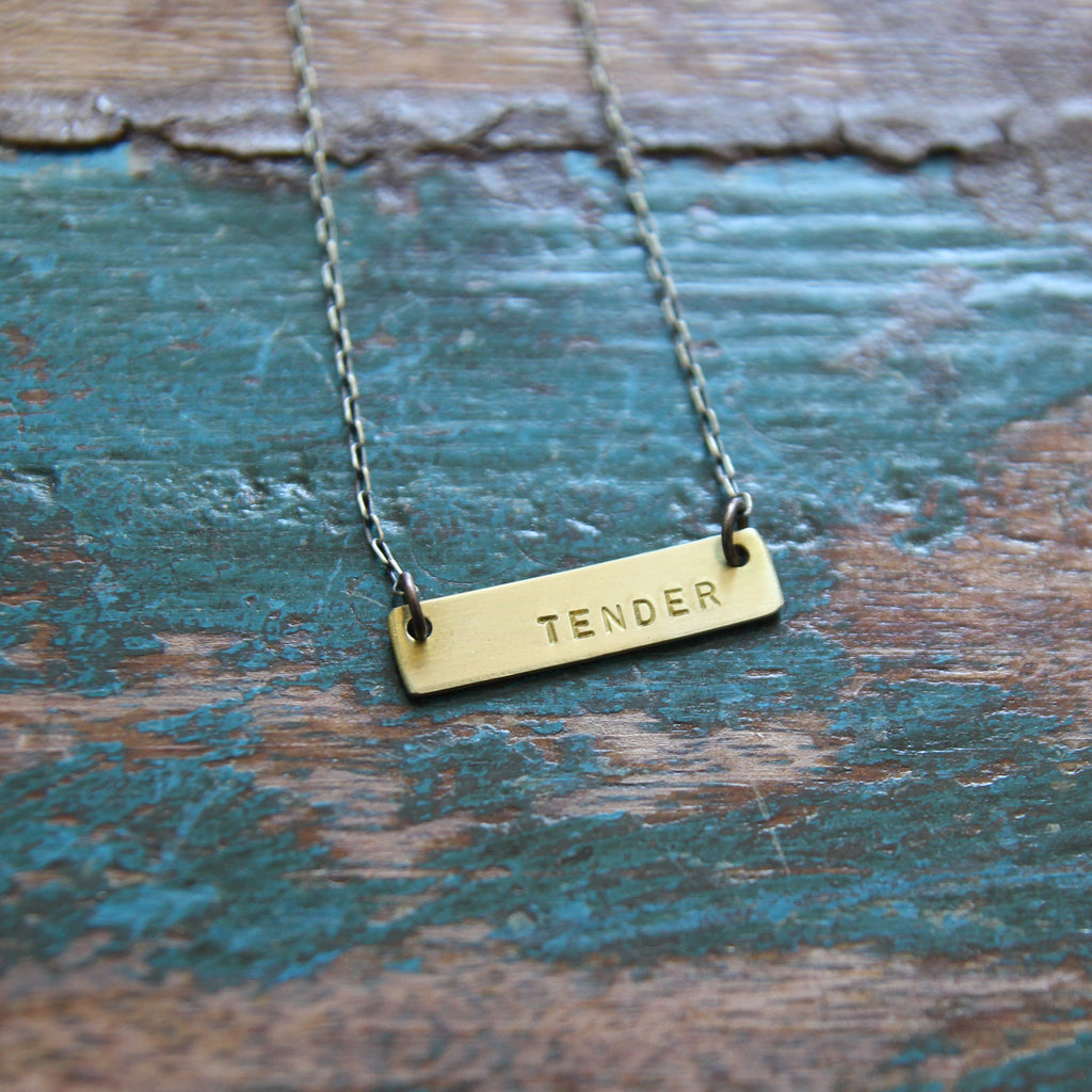 tender :: be true necklace {tiny}