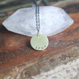 tender & true necklace :: the and space collection