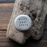 write your story :: pocket talisman