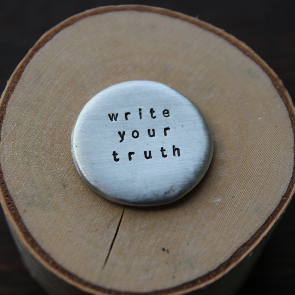 write your truth :: pocket talisman